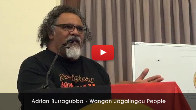 'Modern Day Struggle' (Adani coal) with Adrian Burragubba, Wangan, Jagalingou (Queensland)
