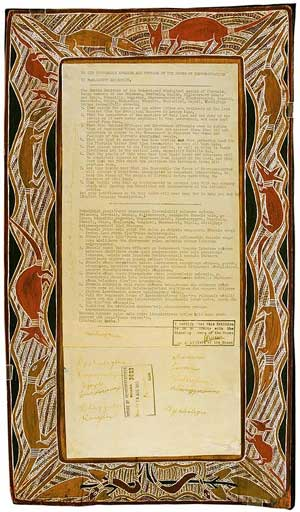 1963 Bark Petition